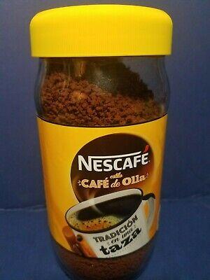 PURE INSTANT COFFEE NESCAFE ESTILO CAFE DE OLLA NET WT 6 OZ  170 GR 07/2020 Pure Instant Coffee