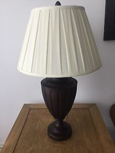 Modern Lamp with Creme lampshade