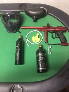Paint ball gun/equipment