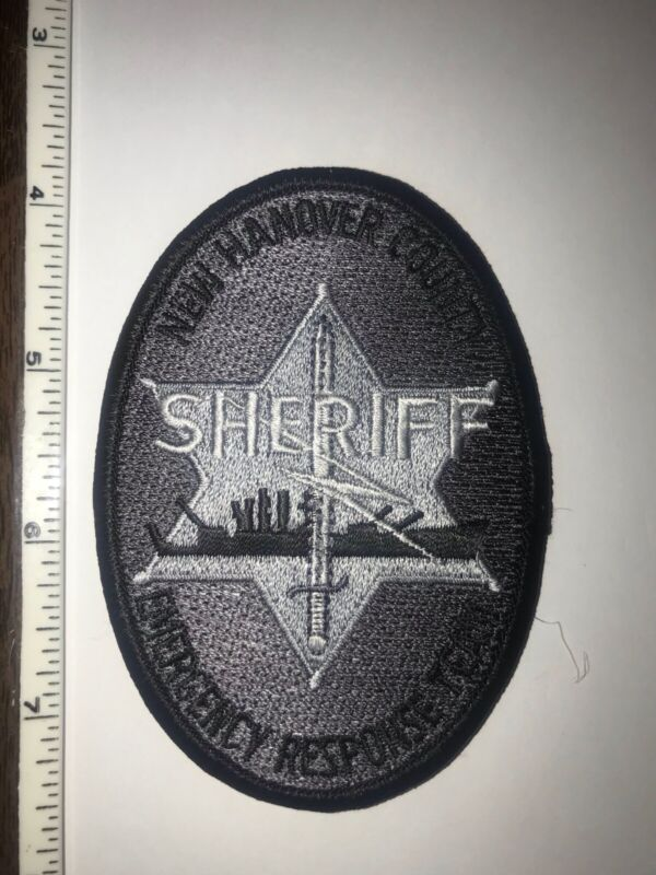 New Hanover County North Carolina Sheriff Emergency Response Team Subdued RARE