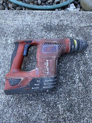 Hilti Cordless Rotary Hammer Drill Te 4-a18 With 18v Li-ion Battery And Charger