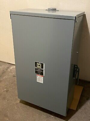 Square D 82344rb 200-amp 480 Vac 3-pole Double Throw Manual Transfer Switch