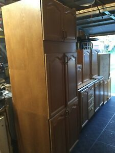 13 Piece Kitchen Cabinets For Sale