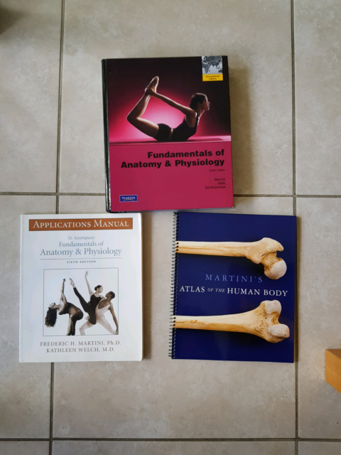 Set Of Martinis Anatomy And Physiology Books Textbooks Gumtree