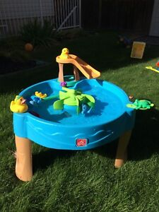 Step 2 Water Table - Frog/Duck Theme (EUC).