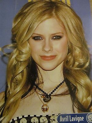Avril Lavigne, Aaron Carter, Double Full Page Pinup