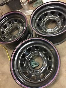 8 bolt Ford wheels