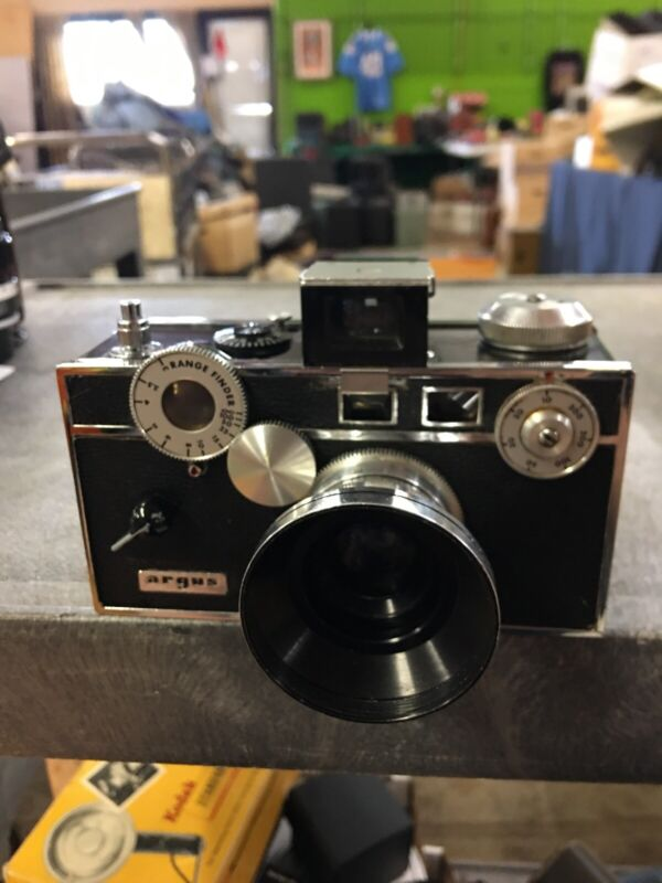 Vintage Argus Rangefinder Camera With U S Zone Germany Lens