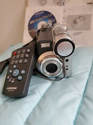 Samsung Mini DV Digital Camcorder Camara