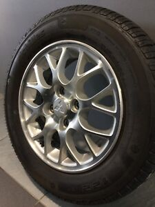 """MITSUBISHI LANCER 14"""" GENUINE ALLOY WHEELS AND TYRES Carramar Fairfield Area Preview"""