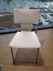 White Dining Chairs Milsons Point North Sydney Area Preview