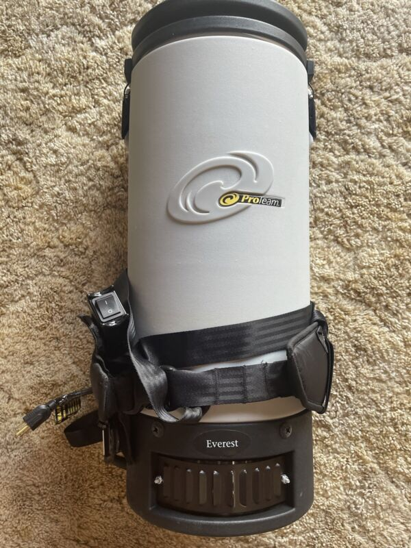 Proteam Backpack Vacuum Everest EXCELLENT SHAPE