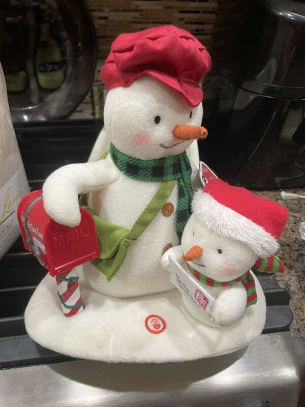 Hallmark Jingle Pals 2018 Special Delivery Postman Musical Light Up Plush NEW