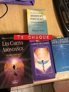 Cartes intuition 5$ chaque