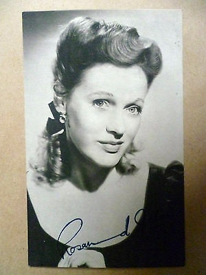 Vintage Photograph: ROSAMUND JOHN with Autographs