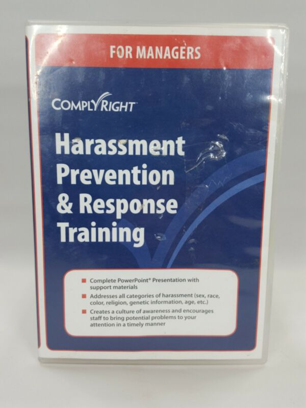 Harassment Prevention And Response Training Comply Right DVD system