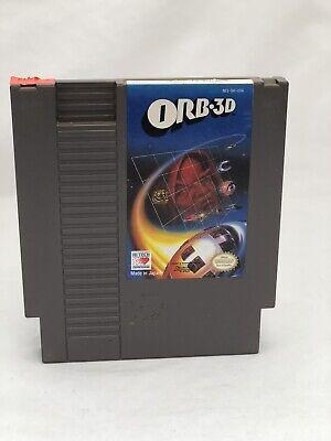 Orb 3D - Nintendo NES - Free Shipping