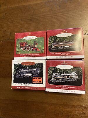 Hallmark Keepsake Lionel Train Collection Set If 4 Collector's Series
