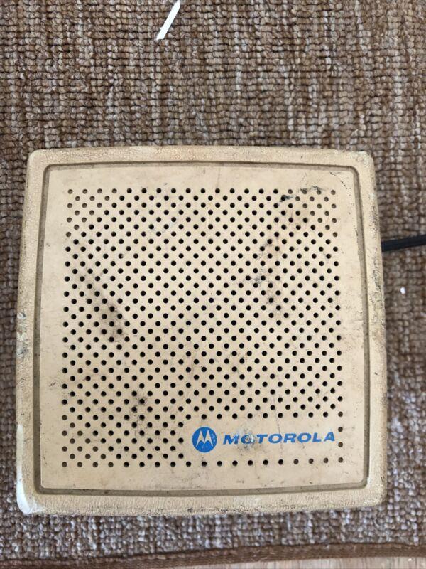 Motorola External Speaker Model HSN4010A