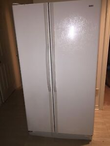 Kenmore large white fridge