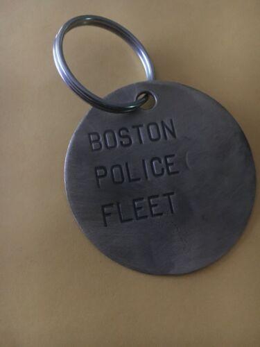 BOSTON POLICE FLEET CRUISER BRASS KEY CHAIN
