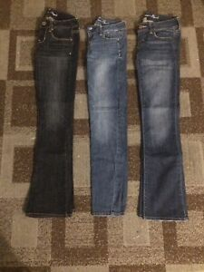 Lot of American Eagle Jeans Size 00/0