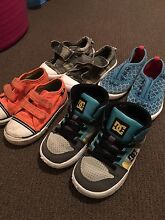 DC AND VANS SKATE SHOES TODDLER 8 $20 FOR ALL Clarkson Wanneroo Area Preview
