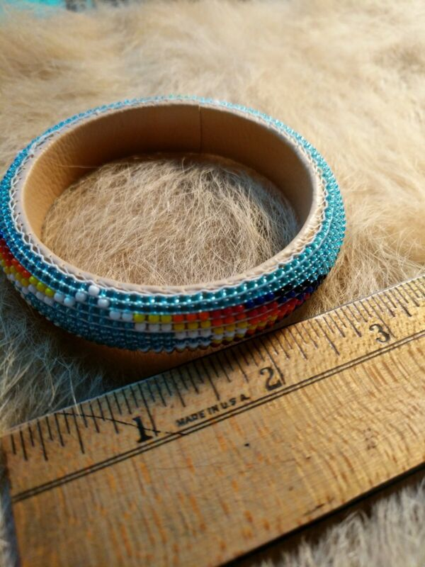 Native American Styled Bangle Bracelet