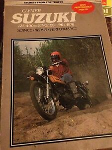 1964 - 1978 Suzuki 125 - 400 Two Stroke Single Manual