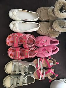 LOT GIRLS SHOES SIZE 9