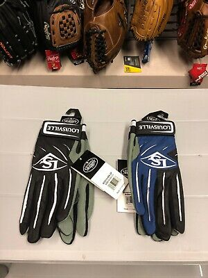 Louisville Slugger Batting Gloves baseball softball gloves 2 color ways Louisville Softball Gloves