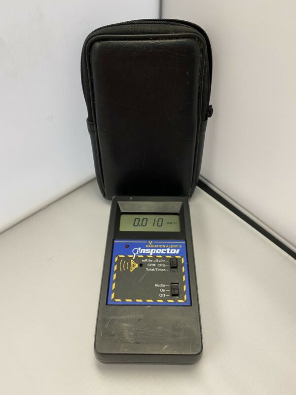 Radiation Alert Inspector Handheld Digital Ionizing Radiation Detector