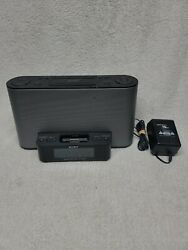 Sony Dream Machine iPhone / iPod Dock AM/FM Clock Radio ICF-CS10iP with Antenna