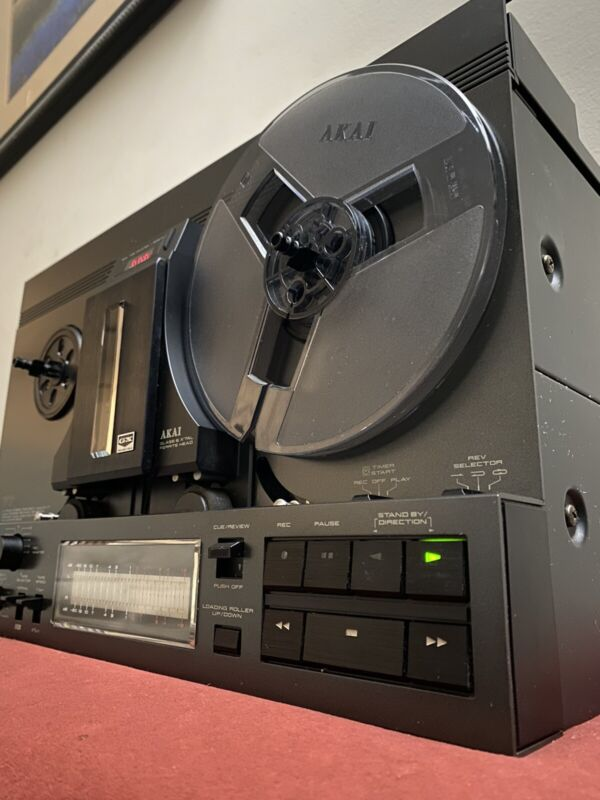 Akai gx-77 reel to reel vintage Excellent condition