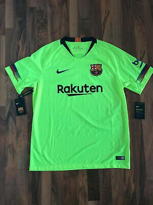 Nike FC Barcelona Fussball Trikot 2018/2019 | Standard Fit | Neongelb |...