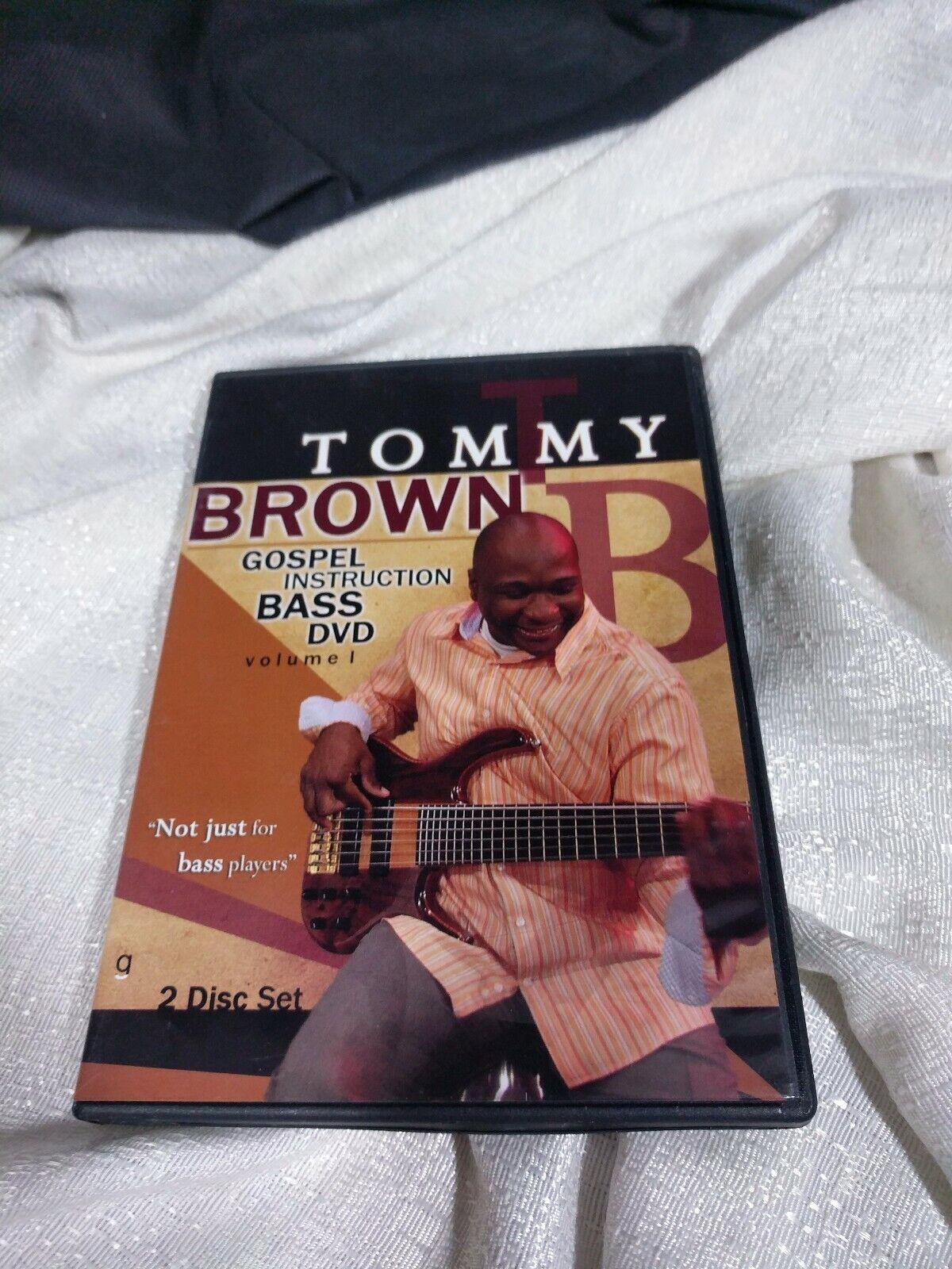 Tommy Brown Gospel Instruction Bass DVD 2 Disc Set - $19.99