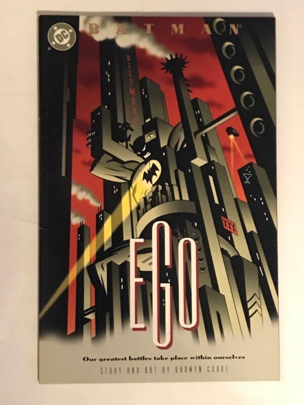 Batman: Ego Darwyn Cooke 1st First Printing 2000 DC Comics forthcoming film 2022