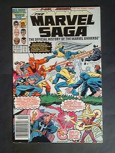 Marvel-Comics-The-Marvel-Saga-16-March-1987-X-Men-vs-Avengers