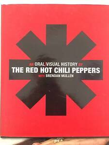 Red Hot Chilli Peppers Book Kensington Melbourne City Preview
