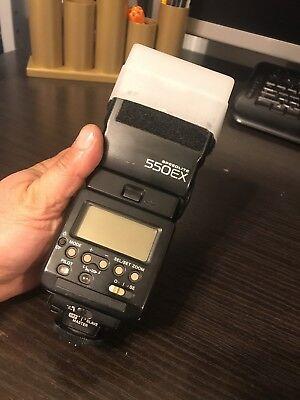 Canon Speedlite 550EX II Shoe Mount Flash for  Canon