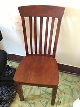 dining chairs & table - solid wood Fremantle Fremantle Area Preview