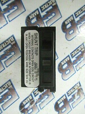 Square D Qob1201021 20 Amp 120 Volt 1 Pole Shunt Black Breaker- Warranty