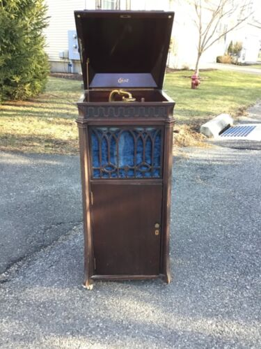 Edison Disc Phonograph model C-19 Working Looks Good