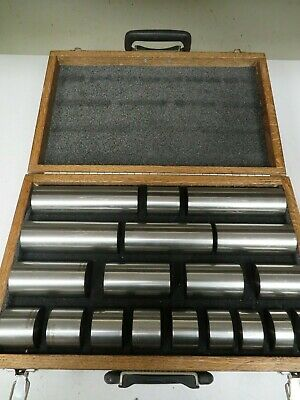Astm E428 Ultrasonicndt Calibration Blocks Titanium 64 Set Of 19 Case Ni28
