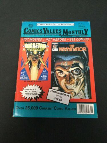 COMICS VALUES MONTHLY 1991 #62 September Magazine