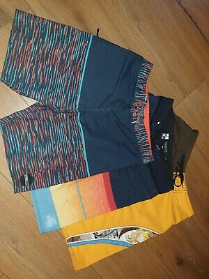 Boys Quiksilver And O'neill Shorts Age 12-14 (bundle 2)