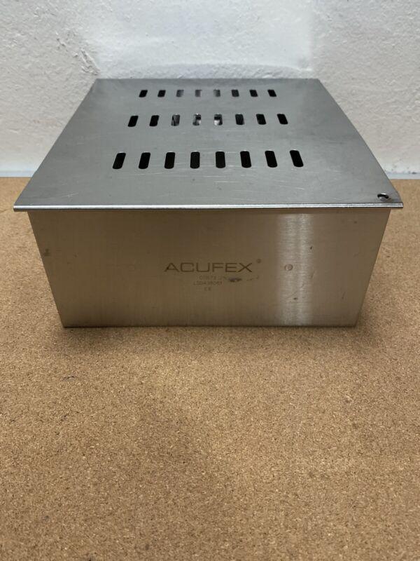 "Acufex 011673 Arthroscopy Instruments Tray Holds 15 Instruments 10"" x 9"" x 4.5"""