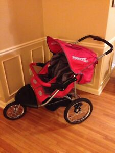Double jogging stroller - practically new, costs $400 new