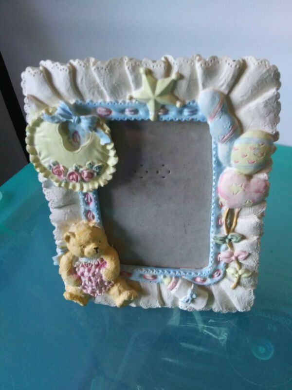 Baby Picture frame Boy/girl Yellow