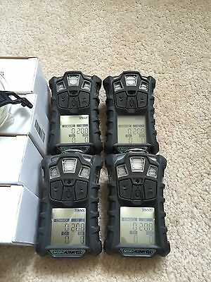 Msa Altair 4X Multi Gas Meter Monitor Detector  O2 H2s Co Lel Charger Calibrated